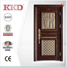 К 2015 году новый дизайн высокого качества стальные двери KKD-911 с алюминием закончить дизайн главной двери