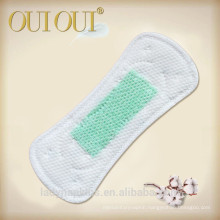 Super Soft Breathable Fresh Green Chip Anion Tanga Waterproof Panty Liner