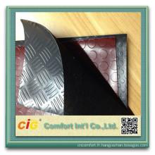 Revêtements de sol pvc PVC plancher Roll Car Upholstery plastique acier pièce Design