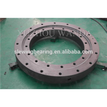 slewing equipment used single row swing gear ring bearing