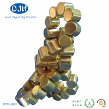 Íman sinterizado de cilindro permanente para uso de brinquedo (DTM-004)