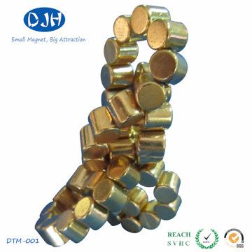 Cilindro permanente imán sinterizado para uso de juguete (DTM-004)