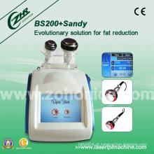Cavitação profissional e dispositivo de perda de peso da tela de toque da cor