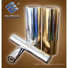 Película de laminación térmica metalizada Sliver (24MIC)