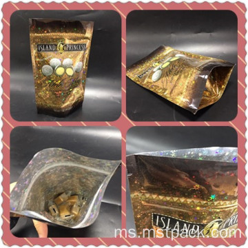 Bling Stand Up Pouch For Candy / Chocolates