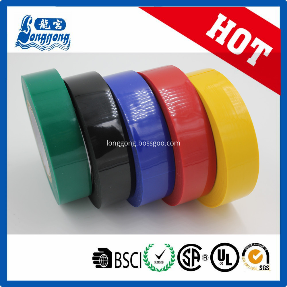 Shrink packing PVC insulation tape