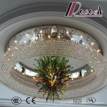 De Buena Calidad White Modern Decorative Hotel Project Crystal Chandeliers