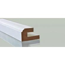 Hite pintura a base de agua Madera pared cintura Dado línea de cintura