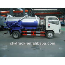 dongfeng 3000L suction-type sewer scavenger truck