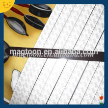Customized adhesive rubber magnet tape