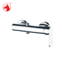 Simple design single exposed shower mixer