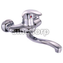 Double Hole Washbasin Mixer