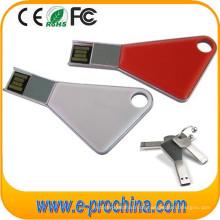 Förderung-kundenspezifischer Mini-USB-Schlüssel formte Flash-Metall-USB-Blitz-Antrieb