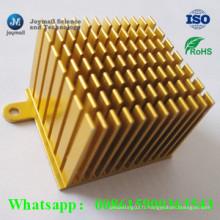 Dispositif de dissipateur de chaleur personnalisé en fonte d'aluminium pour équipement électronique CPU