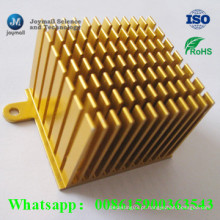 Alumínio personalizado Die Casting Pin Heatsink para CPU Electronic Equipment
