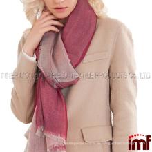 Womens Spring Cashmere Fashion Light Schals und Tücher mit silbernem Draht