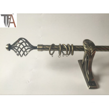 Twisted Curtain Pipe Iron Curtain Rod for Home Decoration