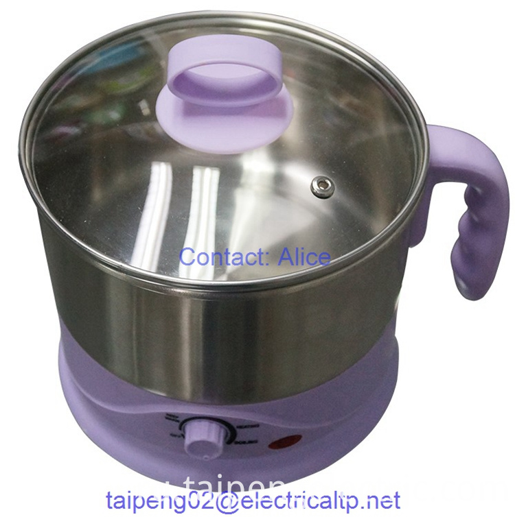 Glass Lid Egg Cooker