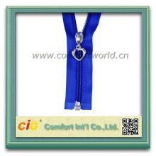 Colorful 5# Nylon Zipper Closed End Continuous Zipper