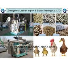 Machine de pressage granulaire d'alimentation de moulin pour le canard / porc / poulet / bétail