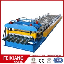 Steel glazed metal sheet roll forming machine