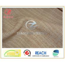 Двухцветная копия скрепленной бархатной ткани для дивана (ZCCF062)