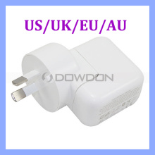 Us/UK/Au/EU Plug 2.1A Wall Charger USB Power Adapter for Apple iPad 10W