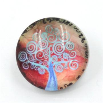 Verschiedene Designs Runde Snap Buttons mit Baum Logo in Dongguan