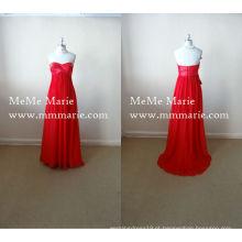 Vestido de noiva com colar sem alças com faixa de fita BYE-14036
