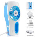 Rechargeable Battery Portable Misty Cooling Fan for Outdoor