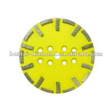 20 segmentos Cabezales de rectificado para gough grinding