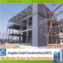 Niedrige Kosten-Multi-Storey-Fabrik-Büro-helles Stahlstruktur-Gebäude