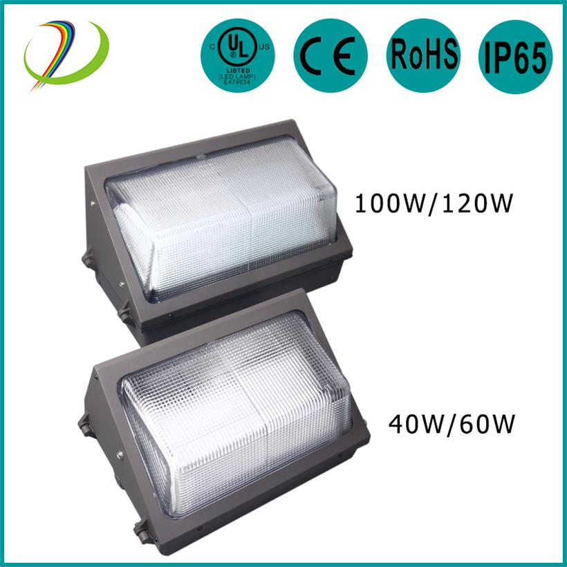 Outdoor use LED WALL Pack 120W