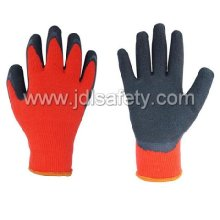 Guante de trabajo de invierno con látex recubierto (LY2025)