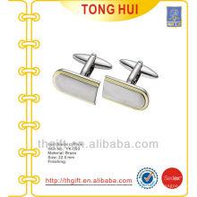 Mangas de metal rectangulares de duas cores metálicas para lembrancinhas