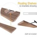 Heavy Duty Solid Steel Blind Floating Shelf Bracket