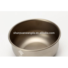 light-weight portable standard titanium tableware bowls