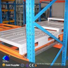 Nanjing jacking 1500kg pro Palette verwendet drücken Regal zurück