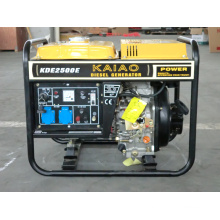2kw KAIAO Electric Diesel Generator Set Small Home Usage Generator Kipor Style