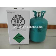 A melhor venda do produto verde da qualidade a mais melhor misturou o gás r507 do refrigerant