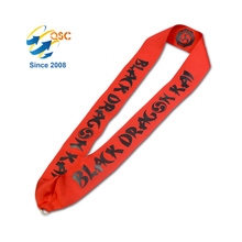 Fashion Custom Logo Printing Id Card Holder Nylon Neck Rope
