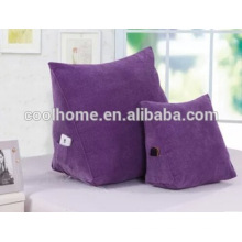Triangle Maize Cashmere Waist Back Cushion Sofa Cushion