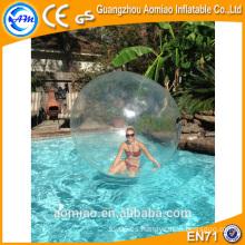 Bola de burbuja de aire resistente / bola de agua bola / pelota de polo de agua