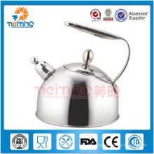 2013 silvery handle pour over stainless steel water kettle