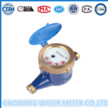 Brass material multi nozzle water meter