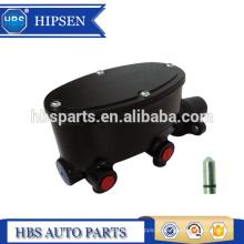 """Cilindro mestre de freio com wilwood tipo oval forma revestimento em pó preto Para GM Universal (tamanho do furo: 1 '' & 1-1 / 8 """")"""
