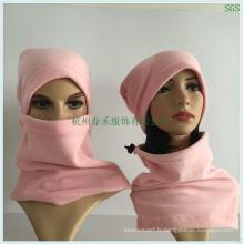 Polar Fleece Hood Magnetic Balaclava Masque pour l'hiver