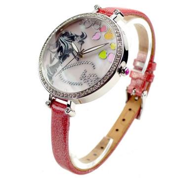 Hl19wholesale Cheap Price Hot Sale Fashion Stainless Steel Men′s and Women′s Wrist Quartz Watch