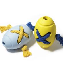 Нетоксичная интерактивная игрушка-щенок для регби