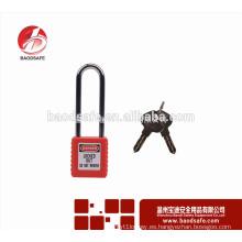 BAODSAFE BDS-S8621 Bloqueo de seguridad de cadena de acero largo Bloqueo